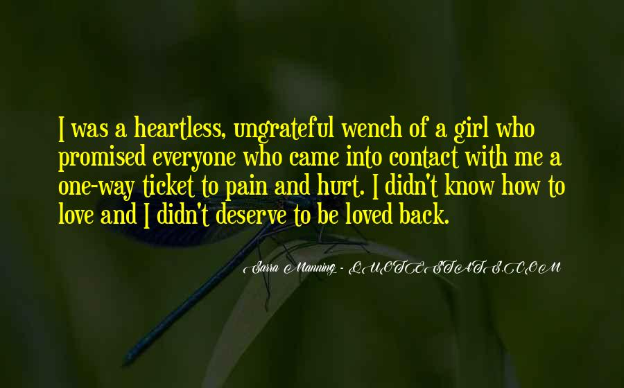 Quotes About Heartless Girl #1141888