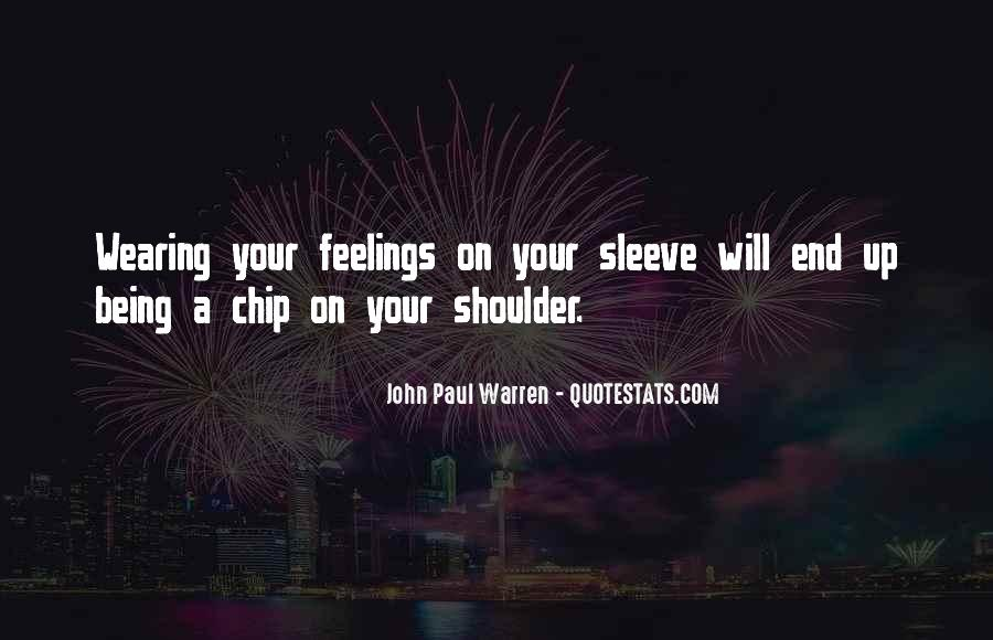 Feelings From The Past Quotes #1210