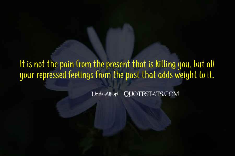 Feelings From The Past Quotes #153569