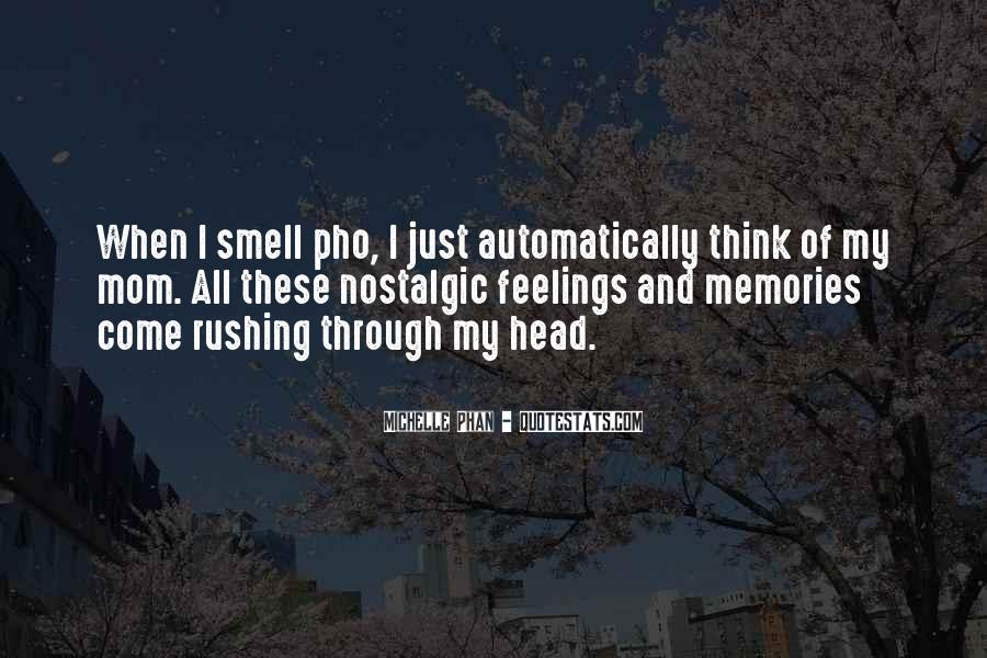 Feelings From The Past Quotes #1736