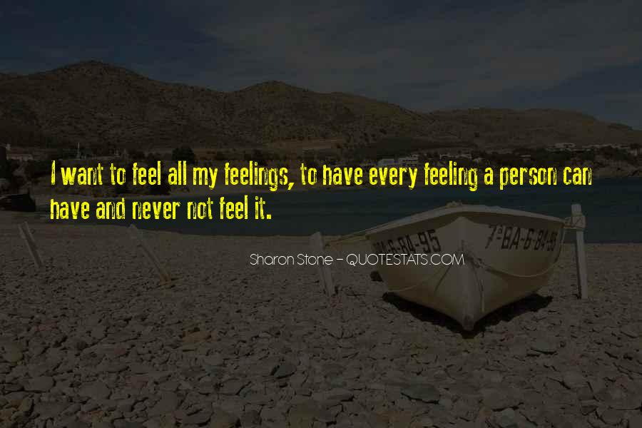 Feelings From The Past Quotes #1965