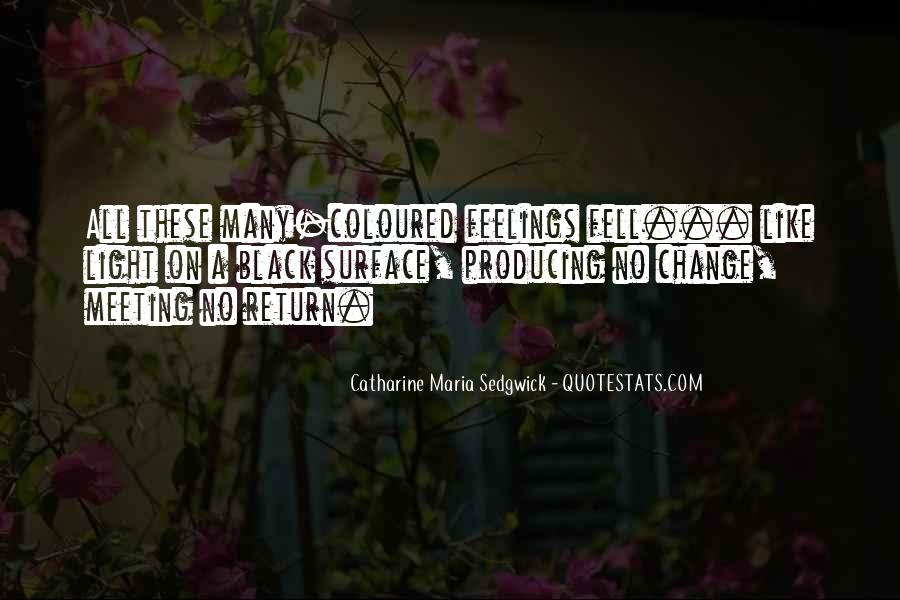 Feelings From The Past Quotes #2878