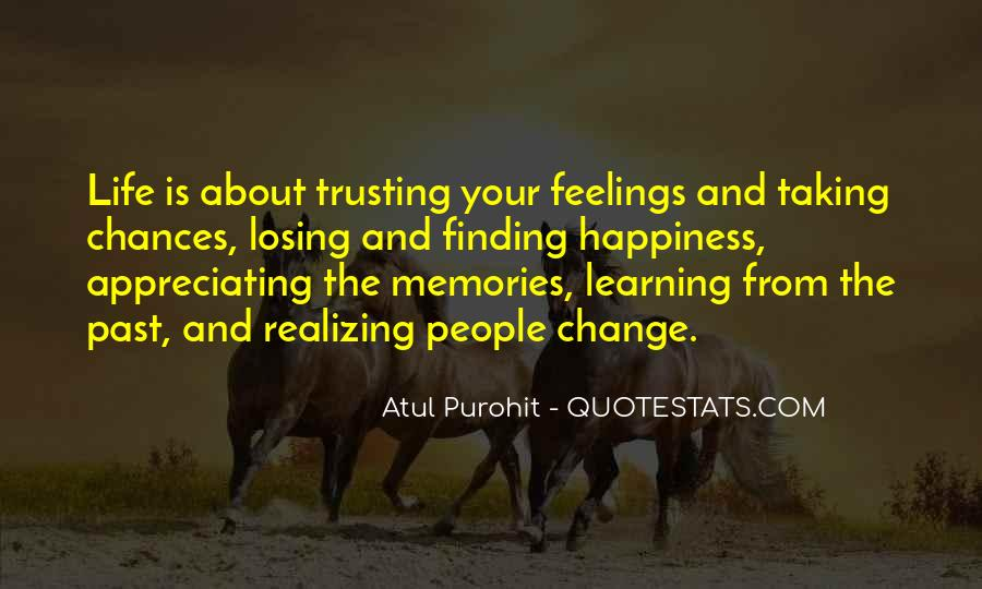 Feelings From The Past Quotes #340339