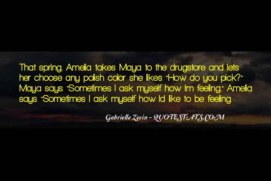Feelings From The Past Quotes #5801