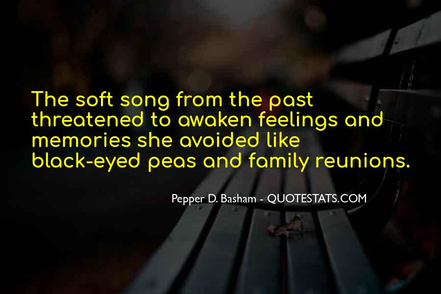 Feelings From The Past Quotes #678355