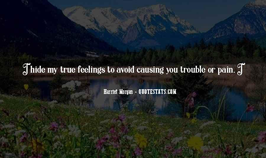 Feelings Pain Quotes #288920
