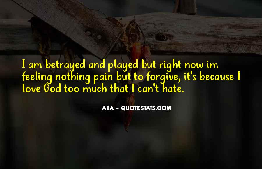 Feelings Pain Quotes #350385