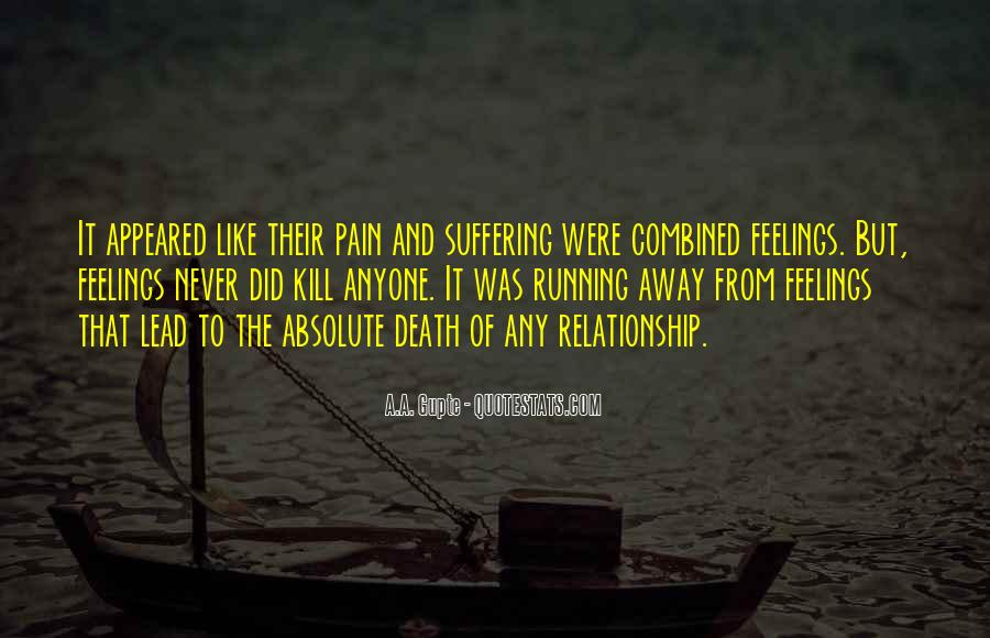 Feelings Pain Quotes #605773