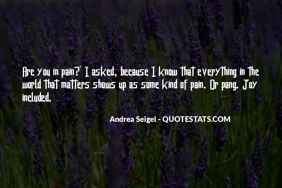 Feelings Pain Quotes #7348