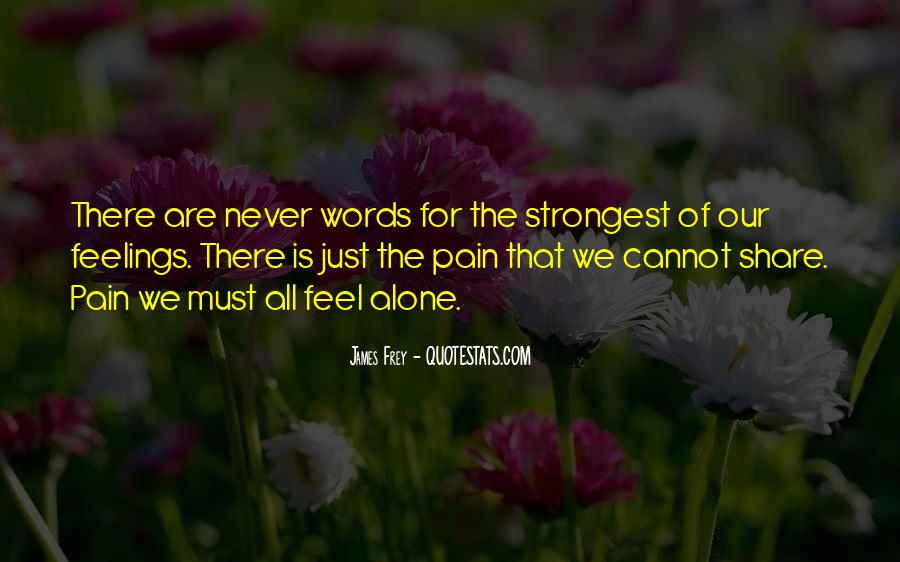 Feelings Pain Quotes #779109