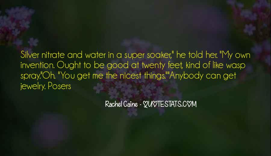 Feet In Water Quotes #1199132