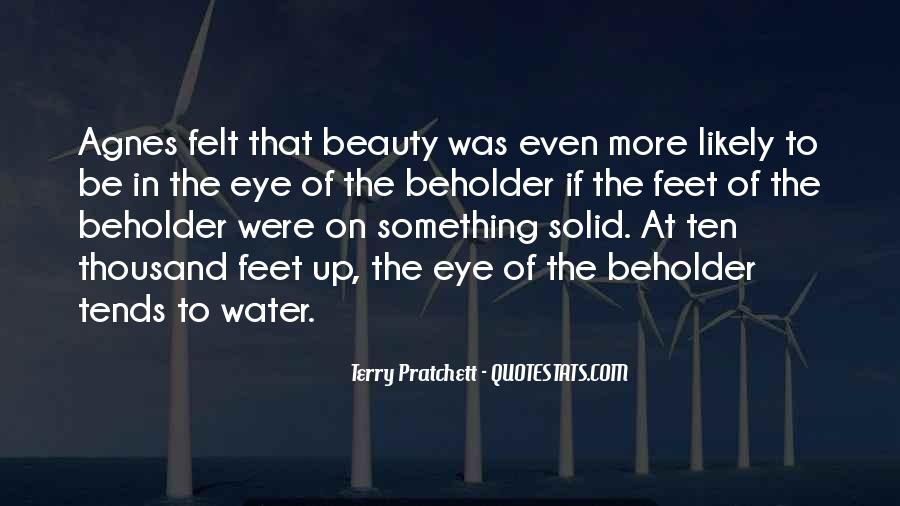 Feet In Water Quotes #1249763