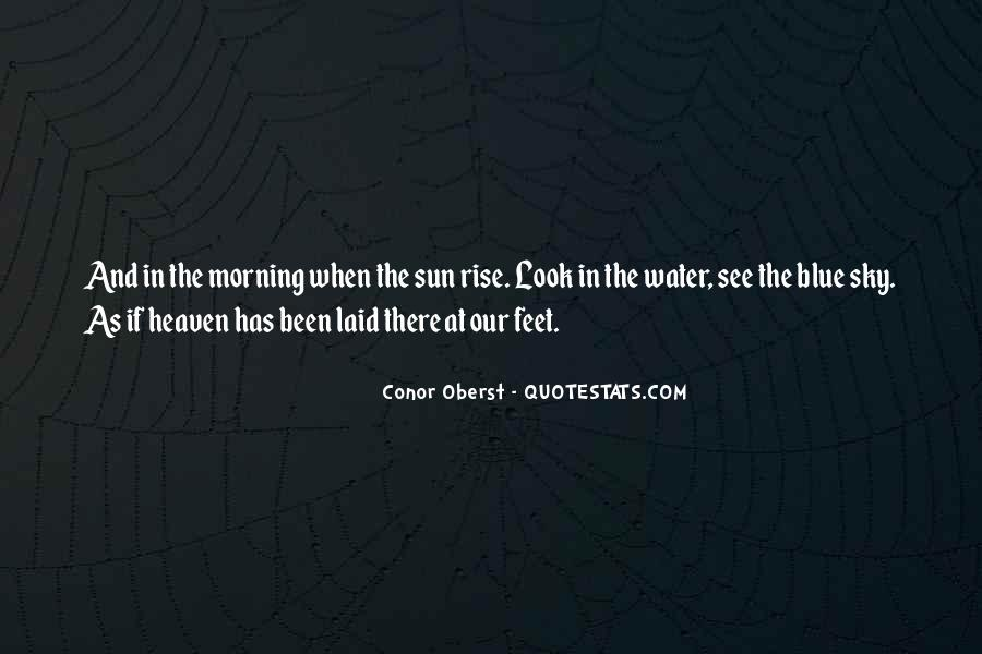 Feet In Water Quotes #1356197