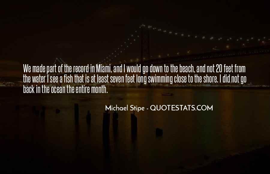 Feet In Water Quotes #1438245