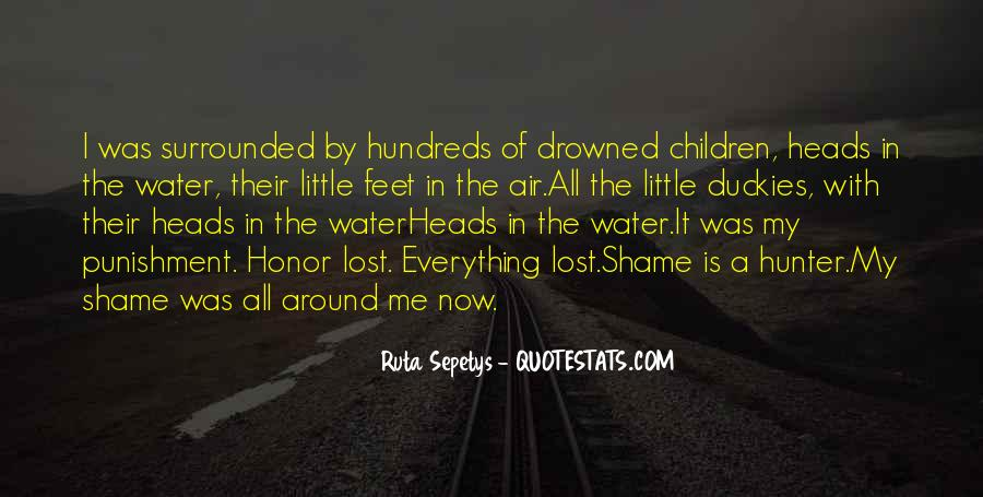 Feet In Water Quotes #1548748