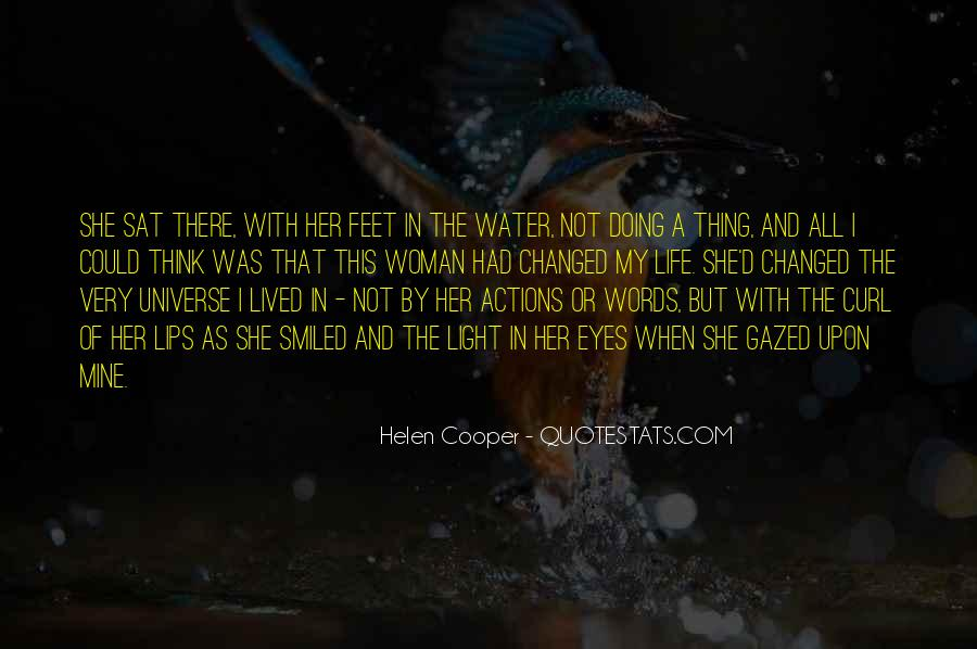 Feet In Water Quotes #230344
