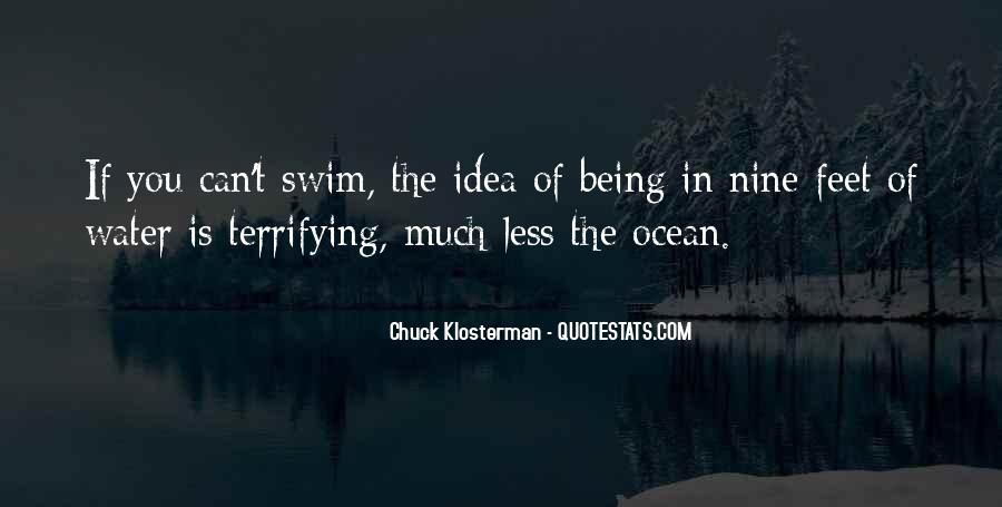 Feet In Water Quotes #770133