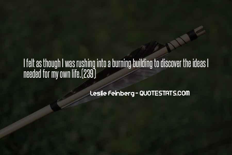 Feinberg Quotes #1594336