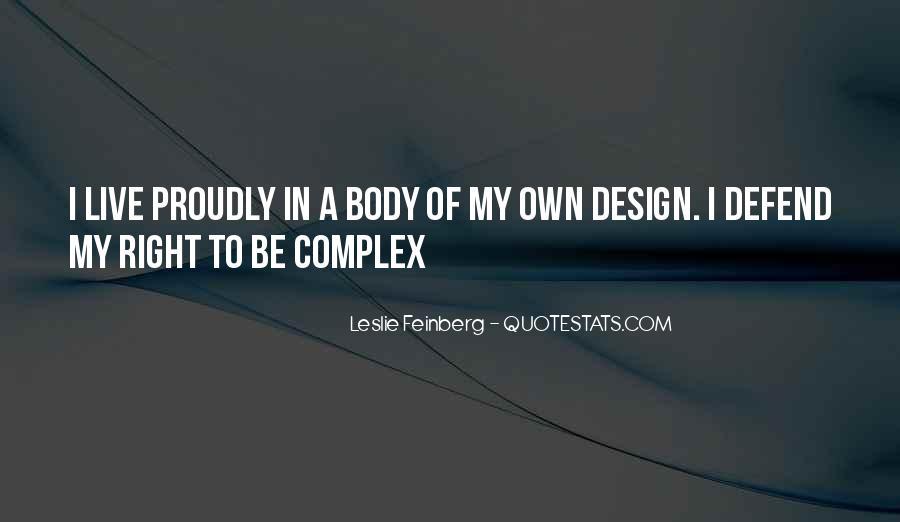 Feinberg Quotes #317002