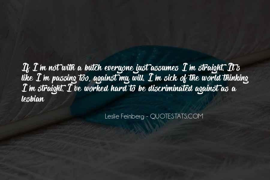 Feinberg Quotes #509228