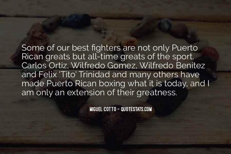 Felix Trinidad Quotes #708282