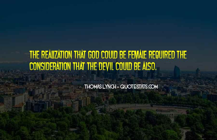 Female Devil Quotes #1713039