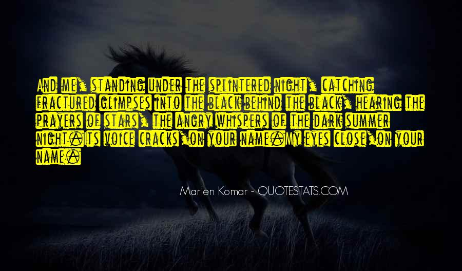 Quotes About Hearing The Voice Of Your Love #1673228
