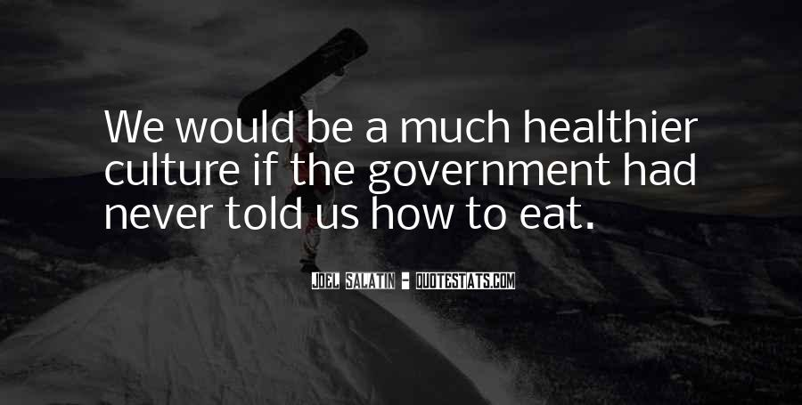 Quotes About Healthier #318050