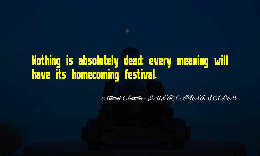 Festival Quotes #159875
