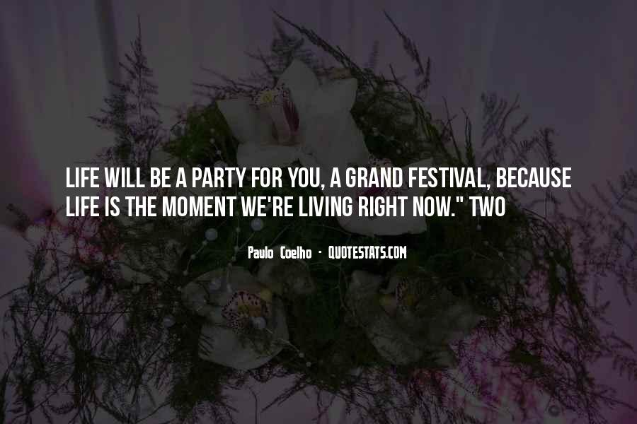 Festival Quotes #206022