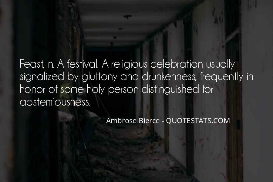 Festival Quotes #342978