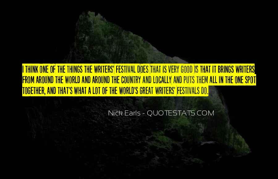 Festival Quotes #3665