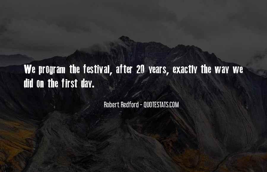Festival Quotes #425500