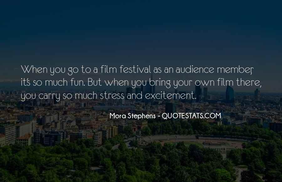 Festival Quotes #462294