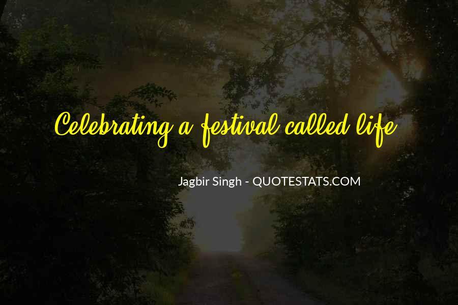 Festival Quotes #475335