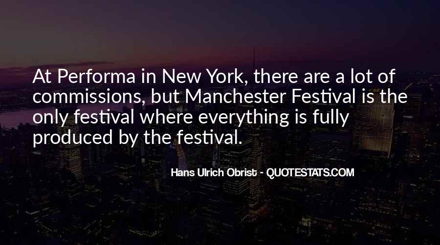 Festival Quotes #55142
