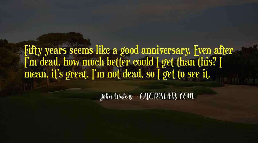 Fifty Anniversary Quotes #797873