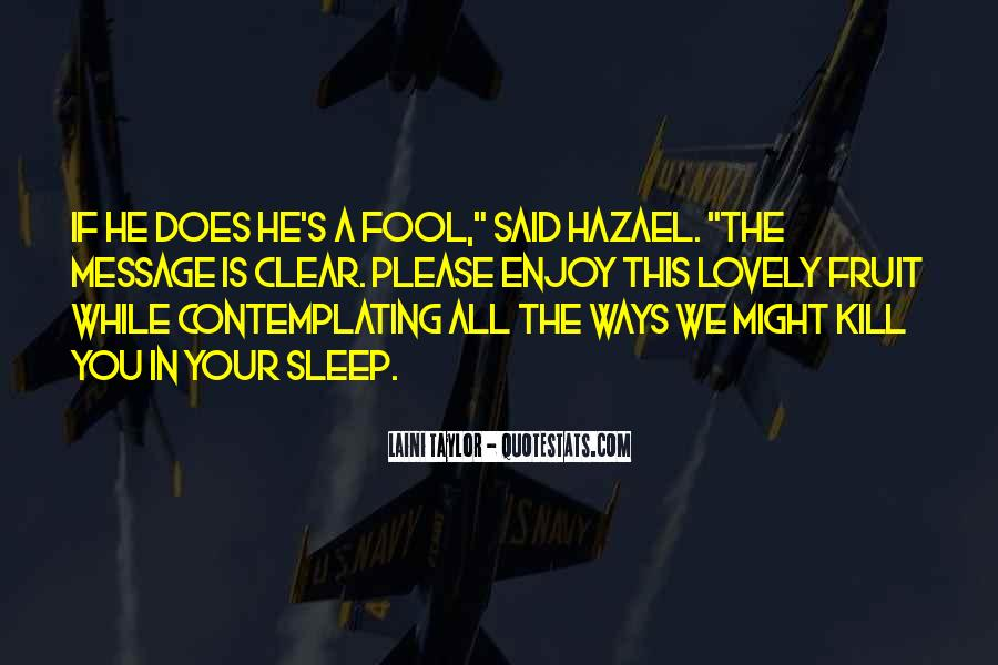 Quotes About Hazael #1460834