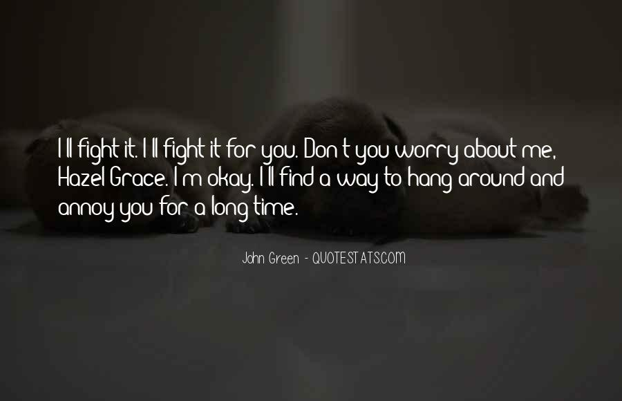 Fight For Me Love Quotes #1288681