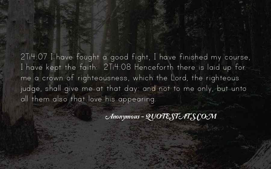 Fight For Me Love Quotes #1439881