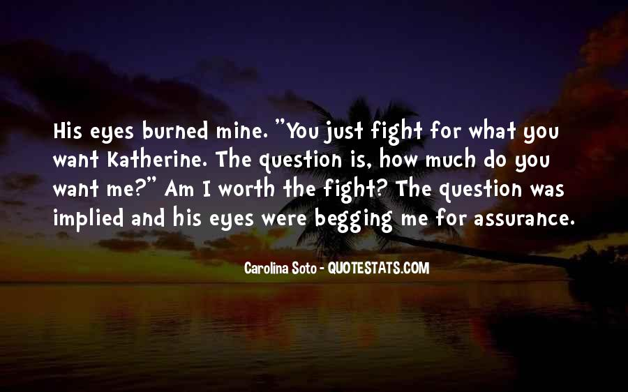 Fight For Me Love Quotes #54261
