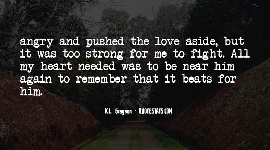 Fight For Me Love Quotes #82517