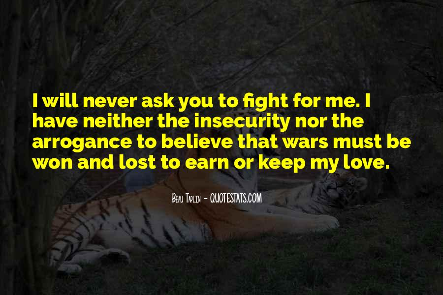 Fight For You Believe Quotes #1145084