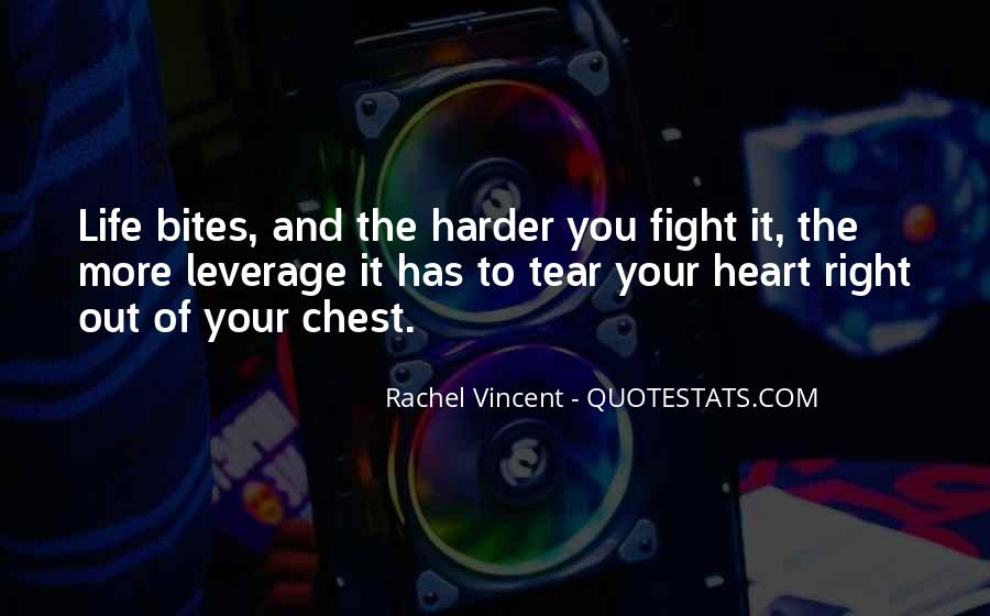 Fight Harder Quotes #1230570