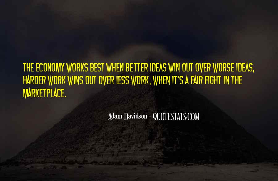 Fight Harder Quotes #1734329