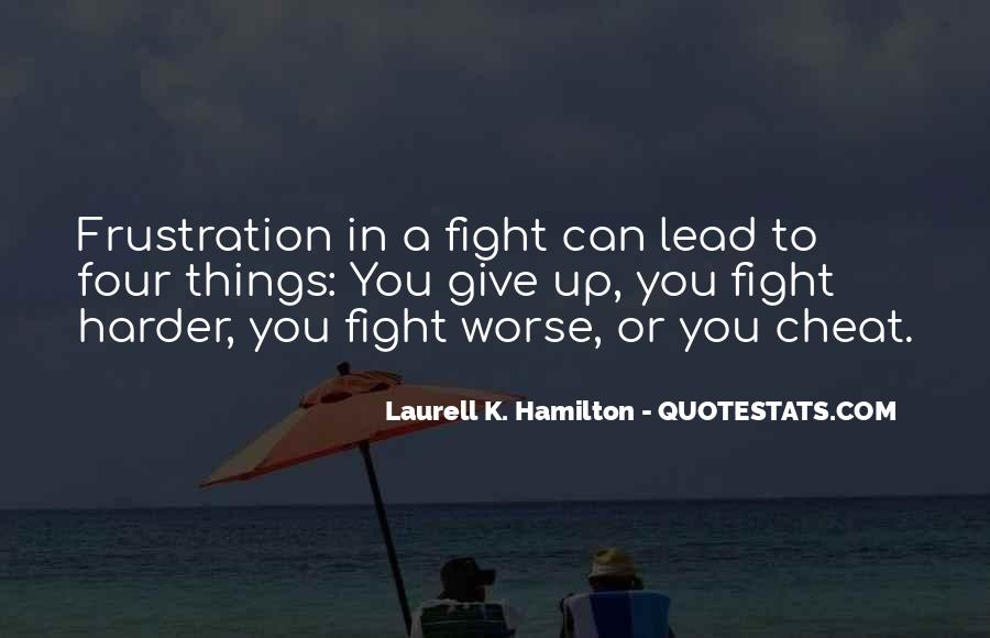 Fight Harder Quotes #175526