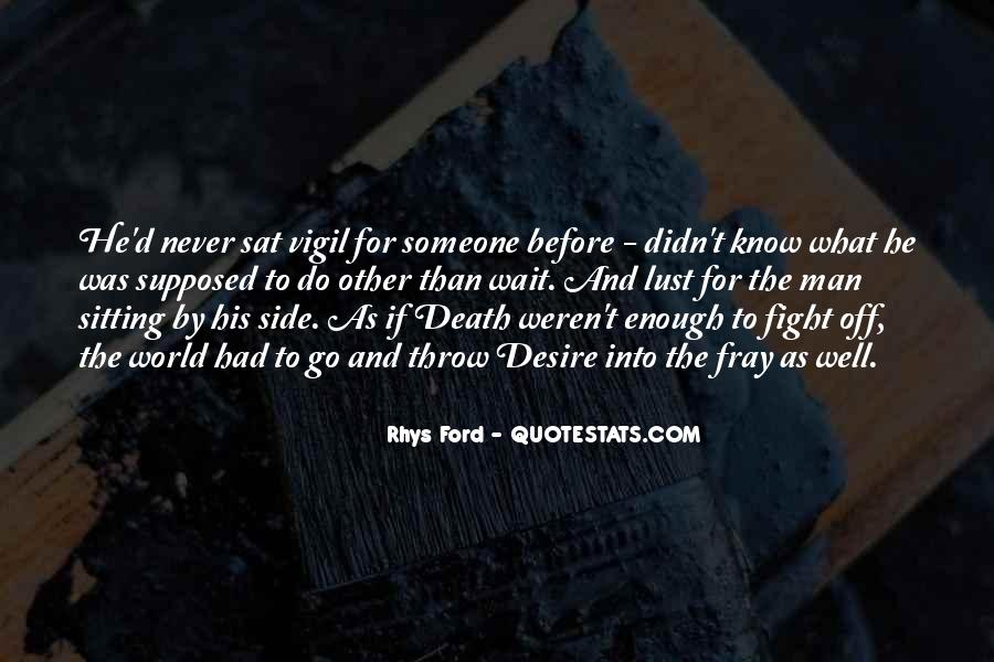 Fight Over Man Quotes #183059