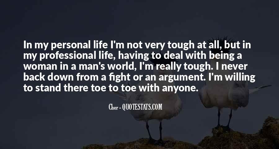 Fight Over Man Quotes #45649