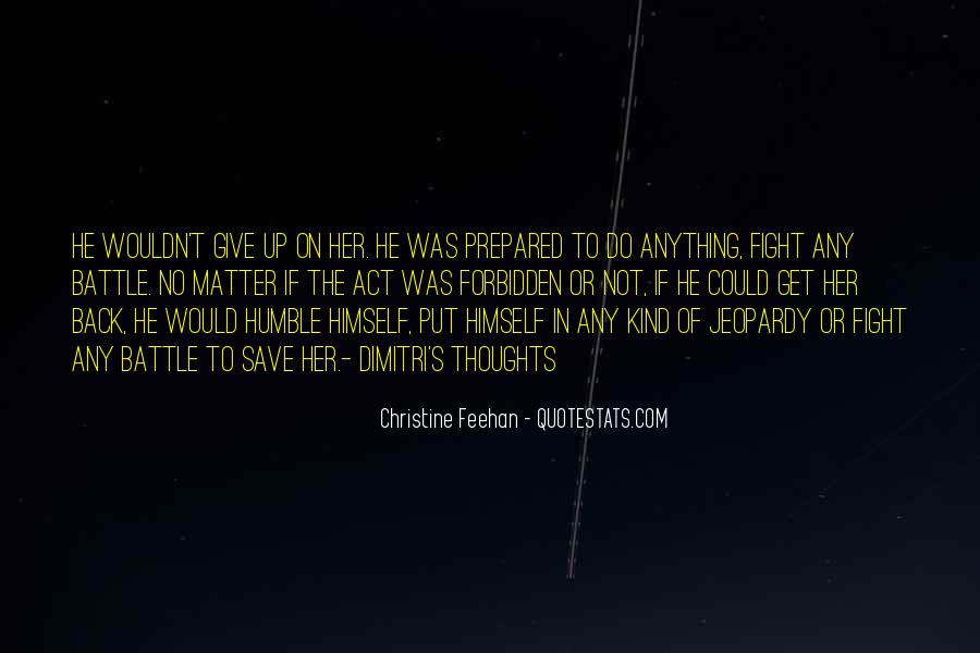 Fight The Battle Quotes #147284