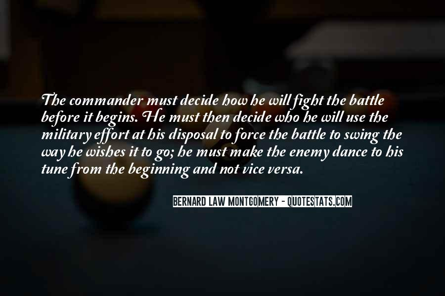Fight The Battle Quotes #16667